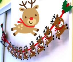 Renos navideños diy