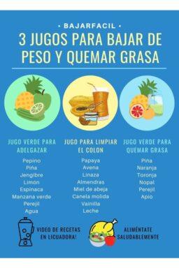 Recetas de jugos naturales