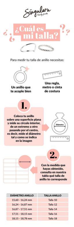Cómo saber tu medida de anillo