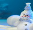 Cute Snowman Facebook Cover