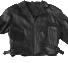 Black leather jacket PNG imagen
