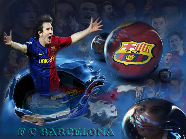 Equipo De Deporte Doodle Fondo Transparente: Fondo Lio Messi Fc Barcelona En Fondos De Pantalla