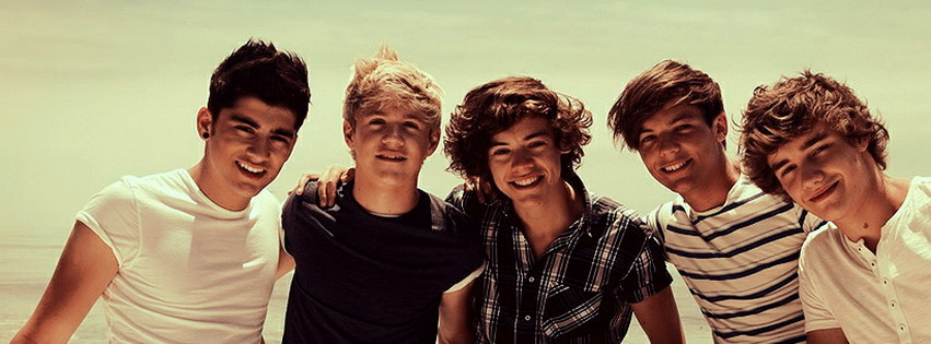 One Direction Band Facebook Cover