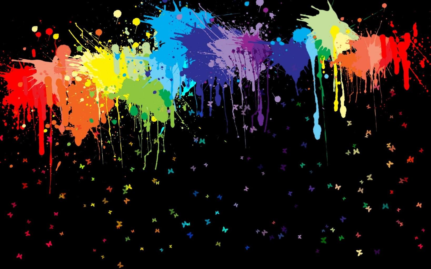 Fondo manchas de colores en fondos de pantalla for De colores de colores